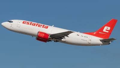 A picture of XAECA - Boeing 7373M8(BDSF) - Estafeta Carga Aerea - © Wes Loeffler