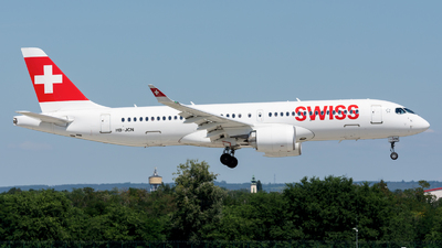 A picture of HBJCN - Airbus A220300 - Swiss - © Debregabor