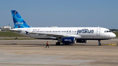 A picture of N590JB - Airbus A320232 - JetBlue Airways - © Devin R