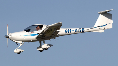 9H-AGB - Diamond DA-20-C1 Eclipse - Diamond Flight Training (Malta)