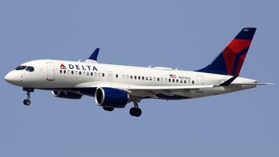 N107DU - Airbus A220-171 - Delta Air Lines