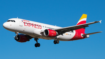 A picture of ECJFG - Airbus A320214 - Iberia Express - © Saúl Alonso