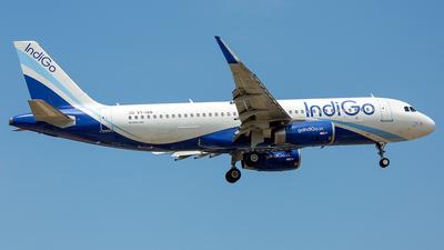 VT-IAN - Airbus A320-232 - IndiGo Airlines