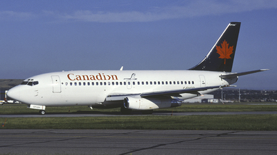 C-FHCP - Boeing 737-2T5(Adv) - Canadian Airlines International