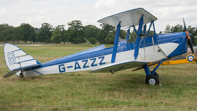 G-AZZZ - De Havilland DH-82A Tiger Moth - Private