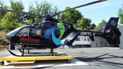 N817LV - Eurocopter EC 135P2+ - Lehigh Valley MedEvac