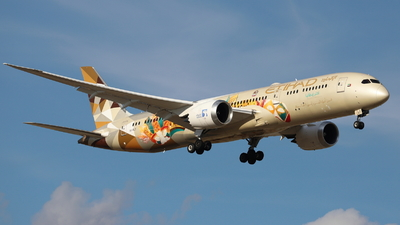 A picture of A6BLT - Boeing 7879 Dreamliner - Etihad Airways - © Guille Gª del Alamo