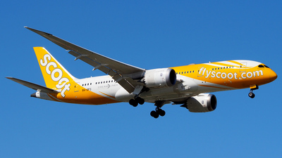 A picture of 9VOFC - Boeing 7878 Dreamliner - Scoot - © Rex Tsai