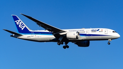 JA825A - Boeing 787-8 Dreamliner - All Nippon Airways (ANA)