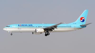 A picture of HL7725 - Boeing 7379B5 - Korean Air - © sunshy0621
