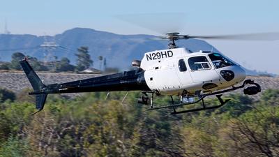 N29HD - Eurocopter AS 350B2 Ecureuil - Helinet Aviation