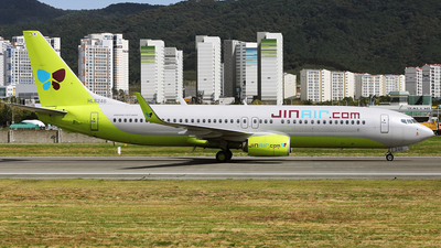 A picture of HL8246 - Boeing 7378SH - Jin Air - © REDSOX