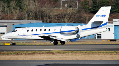 N655MM - Cessna 680 Citation Sovereign - Private