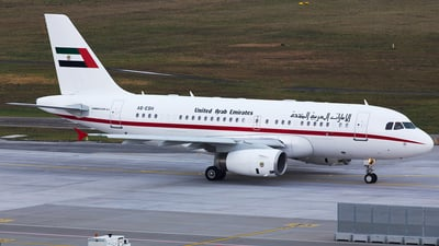 A6-ESH - Airbus A319-133X(CJ) - United Arab Emirates - Amiri Flight