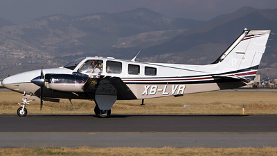 A picture of XBLVR - Beech G58 - [TH2158] - © André DuPont (MAS Aviation Press)