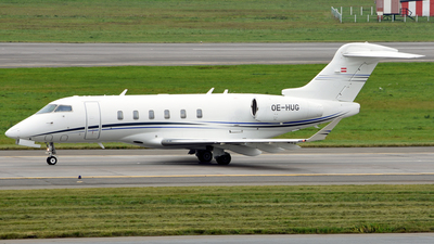 OE-HUG - Bombardier BD-100-1A10 Challenger 350 - International Jet Management