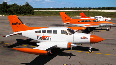 N402CE - Cessna 402B - GeoAir