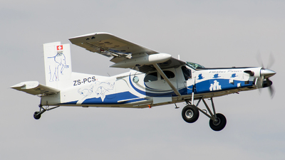 ZS-PCS - Pilatus PC-6/B2-H4 Turbo Porter - Private