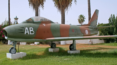 AB - North American F-86F Sabre - Tunisia - Air Force