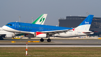 G-MIDT - Airbus A320-232 - bmi British Midland International