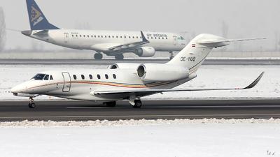 OE-HUB - Cessna 750 Citation X - Viennajet