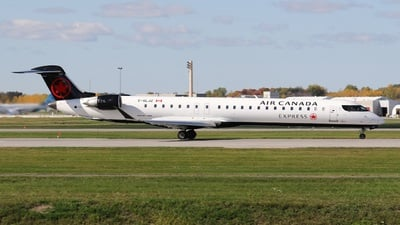 C-GLJZ - Bombardier CRJ-900LR - Air Canada Express (Jazz Aviation)