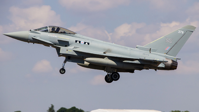 ZK378 - Eurofighter Typhoon FGR.4 - United Kingdom - Royal Air Force (RAF)