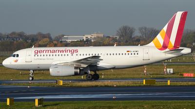 D-AGWS - Airbus A319-132 - Germanwings