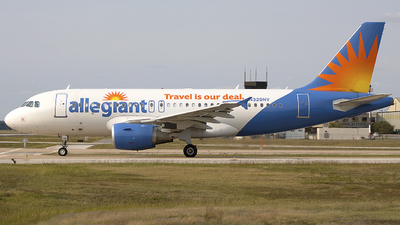 N329NV - Airbus A319-111 - Allegiant Air