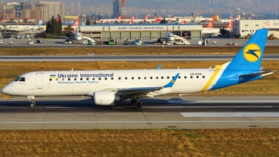 UR-EMA - Embraer 190-100STD - Ukraine International Airlines