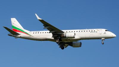 A picture of LZSOF - Embraer E190STD - Bulgaria Air - © marfi80