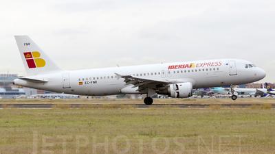 EC-FNR - Airbus A320-211 - Iberia Express
