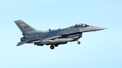 91-0389 - General Dynamics F-16C Fighting Falcon - United States - US Air Force (USAF)