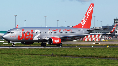 A picture of GDRTF - Boeing 73785P - Jet2 - © John Fitzpatrick