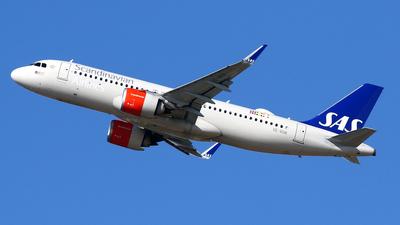 A picture of SEROR - Airbus A320251N - SAS - © Javier Rodriguez - Amics de Son Sant Joan