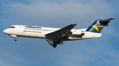 A picture of VHJFE - Fokker 70 - Alliance Airlines - © Ben Long