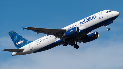 N516JB - Airbus A320-232 - jetBlue Airways