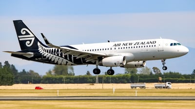 ZK-OXI - Airbus A320-232 - Air New Zealand