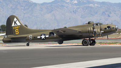 A picture of N3701G - Boeing B17G - [448543A] - © Charlie Ramirez Jr.