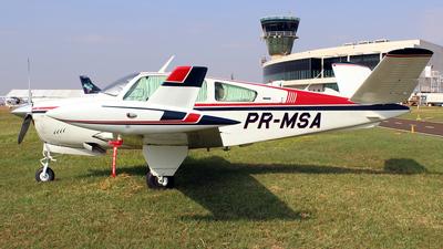 PR-MSA - Beechcraft V35B Bonanza - Private