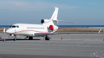VP-CBY - Dassault Falcon 7X - Private