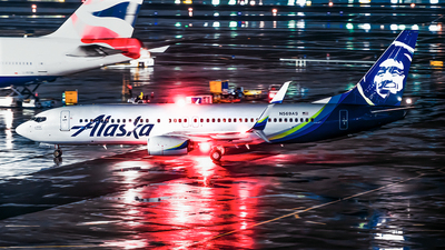A picture of N569AS - Boeing 737890 - Alaska Airlines - © Jim Li