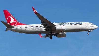 A picture of TCJVA - Boeing 7378F2 - Turkish Airlines - © Furkan Borakazi