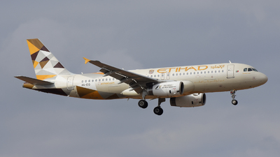 A6-EIO - Airbus A320-232 - Etihad Airways