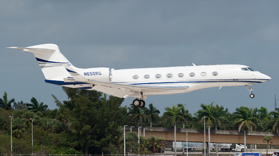 N650RG - Gulfstream G650 - Private