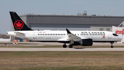 A picture of CGMZR - Airbus A220300 - Air Canada - © Hongyu Wang