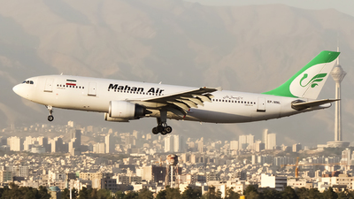 A picture of EPMNL - Airbus A300B4603 - Mahan Air - © Mohammad Rozve