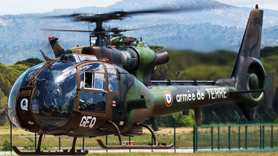 4222 - Aérospatiale SA 342 Gazelle - France - Army
