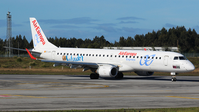 EC-LKX - Embraer 190-200LR - Air Europa Express