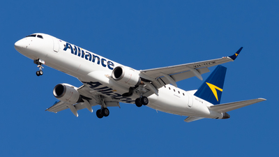 VH-UYW - Embraer 190-100IGW - Alliance Airlines